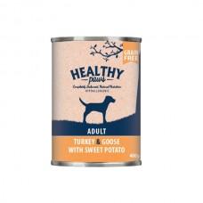 Healthy Paws indyk i gęś 400 g