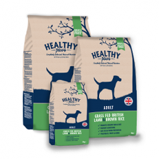 HEALTHY PAWS Adult Grass Fed British Lamb and Brown Rice - 12 kg