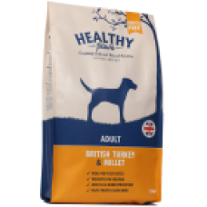 HEALTHY PAWS Adult British Turkey & Millet - 2 kg