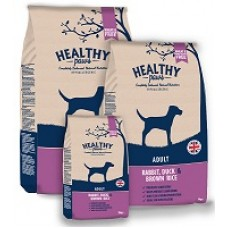 HEALTHY PAWS Adult Rabbit, Duck and Brown Rice - 12 kg