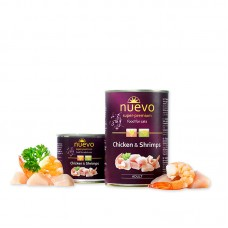Nuevo Cat Adult Chicken and Shrimps 400 g