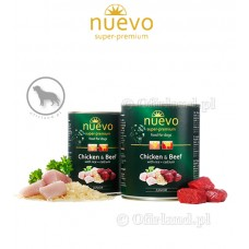 NUEVO Junior Chicken and Beef with rice plus calcium 400 g