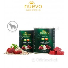 NUEVO Senior Lamb and Beef with oat flakes 400 g