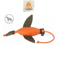 FIREDOG Kaczka Dummy Marking 400 g pomarańczowo-zielona