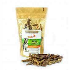 Naturalne gryzaki dla psa PREMIUM - SUSZONE MIĘSO CIELĘCE Balto 100 g