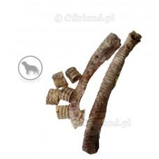 Naturalne gryzaki dla psa - SUSZONE TCHAWICE WOŁOWE CIĘTE 100 g