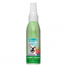 TropiClean Fresh Breath Berry Oral Care Spray 118 ml