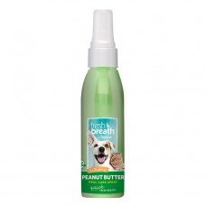 TropiClean Fresh Breath Peanut Butter Oral Care Spray 118 ml