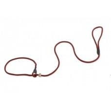 FIREDOG Moxon leash Profi 6 mm 130 cm stripes red/black
