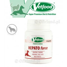 HEPATOforce Vetfood 30 kaps.