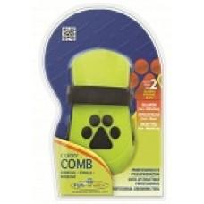 FURminator Curry Comb – gumowe zgrzebło do sierści krótkiej i średniej
