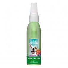 TropiClean Fresh Breath Berry Oral Care Spray 118 ml