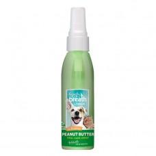TropiClean Fresh Breath Peanut Butter Oral Care Spray 118 ml