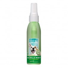 TropiClean Fresh Breath Vanilla Mint Oral Care Spray  118 ml
